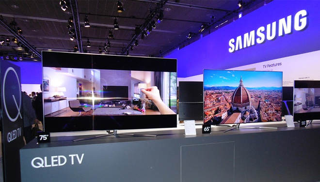 TV QLED 2017 cua Samsung dat chung nhan UHD Premium hinh anh 1