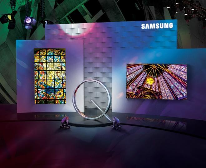 TV QLED 2017 cua Samsung dat chung nhan UHD Premium hinh anh 2