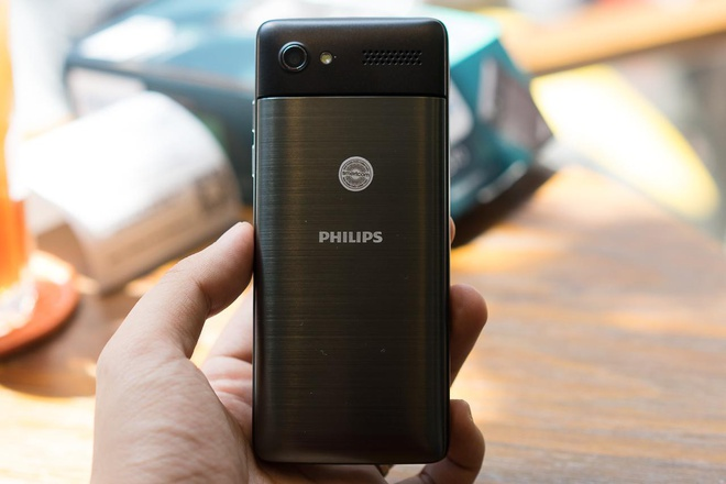 Philips ra mat mau dien thoai ban phim E570 hinh anh 4