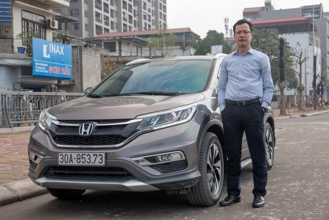 Honda CR-V - mau xe ban chay nhat the gioi 4 nam lien tiep hinh anh