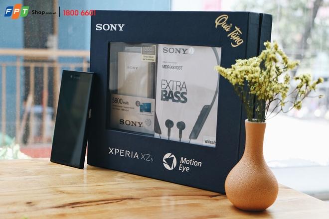 Dat mua Sony Xperia XZs tai FPT Shop, nhan qua 2,5 trieu dong hinh anh 1