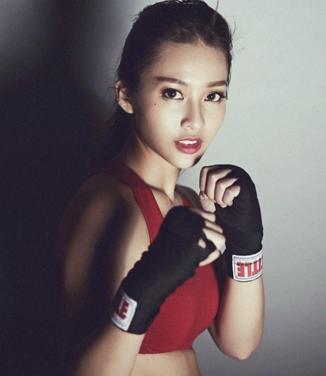 Kha Ngan va bi quyet tu hot girl boxing den nu dien vien trien vong hinh anh 1