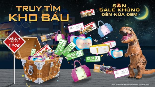 100 thuong hieu tham gia 'Sale khung den nua dem' tai Crescent Mall hinh anh 5