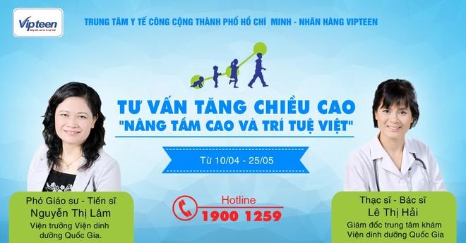Khoi dong chuong trinh kham, tu van tang chieu cao cho tre tai TP.HCM hinh anh 1