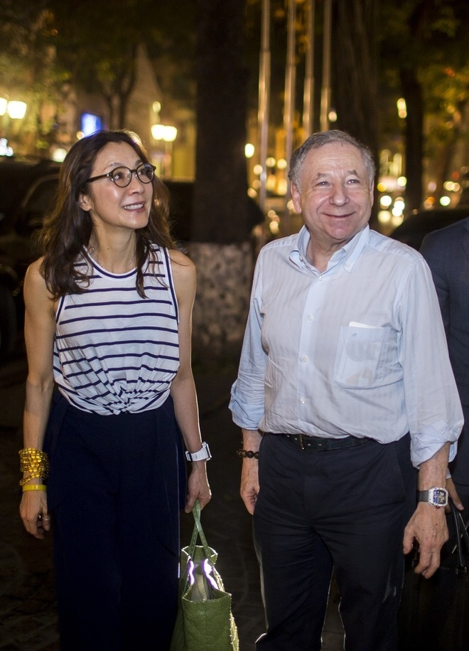 Duong Tu Quynh cung Jean Todt tham Richard Mille Ha Noi hinh anh 4