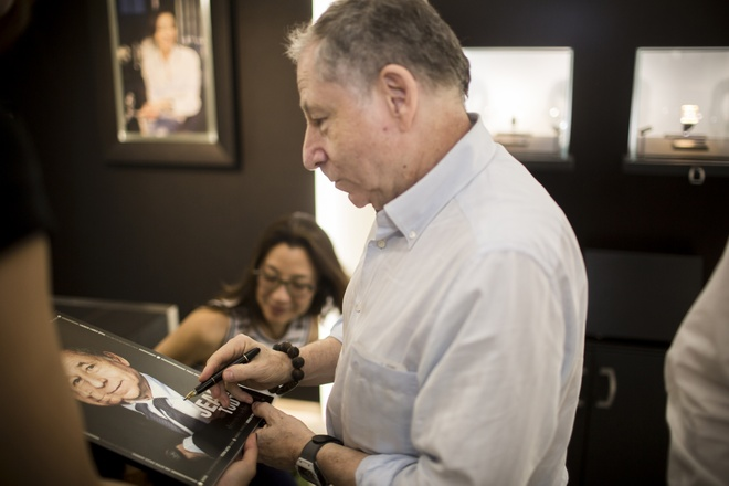 Duong Tu Quynh cung Jean Todt tham Richard Mille Ha Noi hinh anh 7