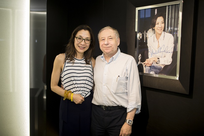 Duong Tu Quynh cung Jean Todt tham Richard Mille Ha Noi hinh anh 8