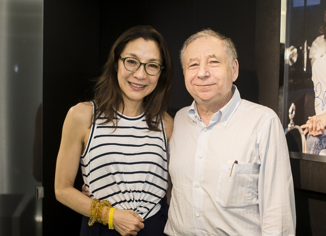Duong Tu Quynh cung Jean Todt tham Richard Mille Ha Noi hinh anh