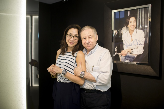 Duong Tu Quynh cung Jean Todt tham Richard Mille Ha Noi hinh anh 9