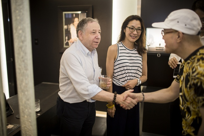 Duong Tu Quynh cung Jean Todt tham Richard Mille Ha Noi hinh anh 10