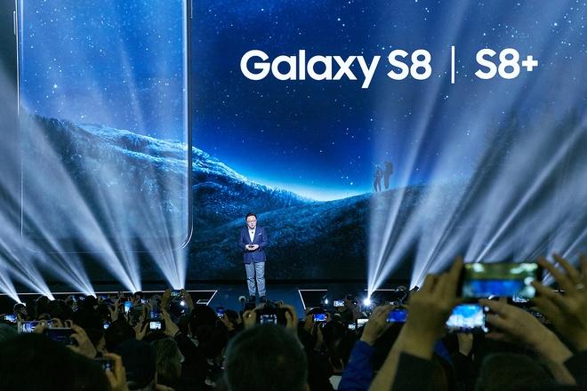 Galaxy S8, S8+ lap ky luc dat hang tai VN du chua co gia ban hinh anh 2
