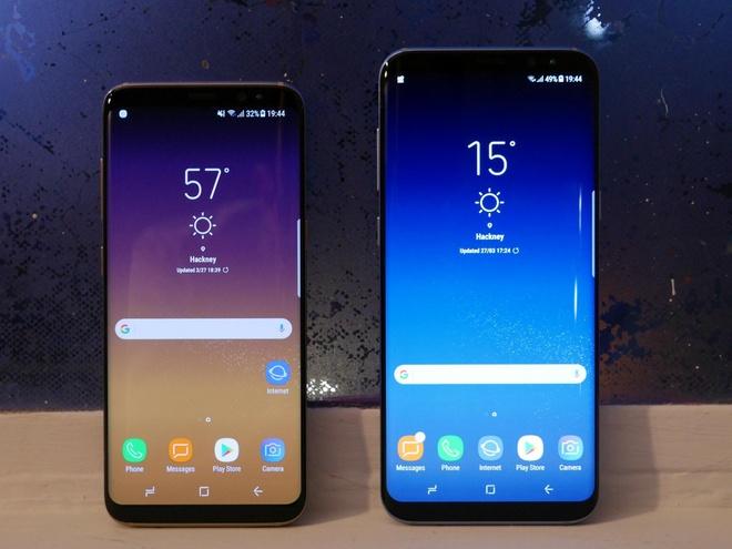 Galaxy S8, S8+ lap ky luc dat hang tai VN du chua co gia ban hinh anh