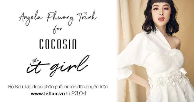 Angela Phuong Trinh ra mat bo suu tap moi, livestream tren Facebook hinh anh 1