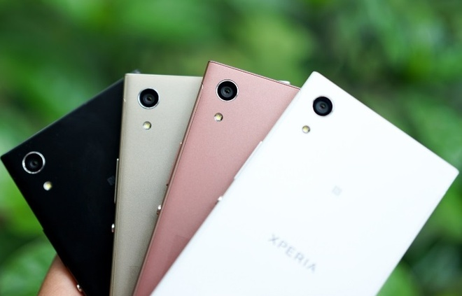 Xperia XA1 - smartphone tam trung voi camera cao cap hinh anh