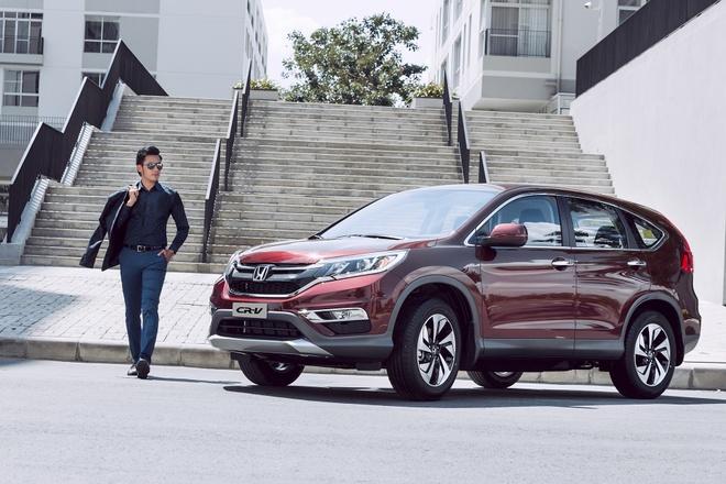 Honda Viet Nam khuyen mai cho khach mua Honda CR-V va Honda Accord hinh anh 1