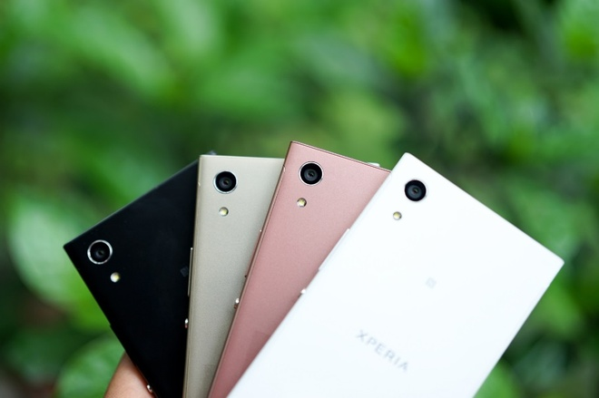smartphone tam trung Xperia XA1 anh 1
