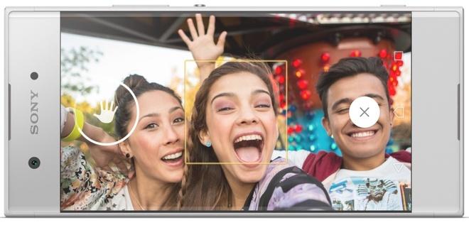 smartphone tam trung Xperia XA1 anh 2