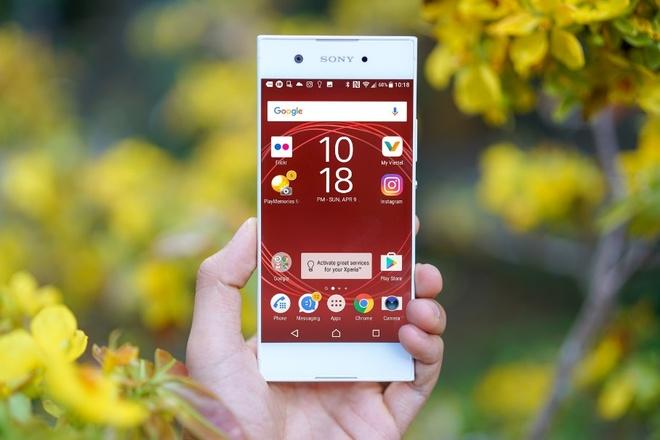 smartphone tam trung Xperia XA1 anh 5