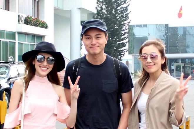 Dan sao TVB ket thuc chuyen tham Viet Nam SCTV to chuc hinh anh