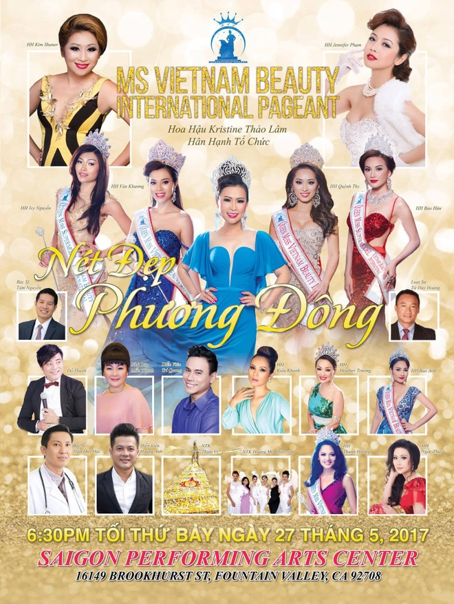Hoang My Collection lam moi Ms Vietnam Beauty International Pageant hinh anh 8
