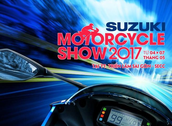 Suzuki mang 10 mau xe ten tuoi nhat den Trien lam moto xe may 2017 hinh anh