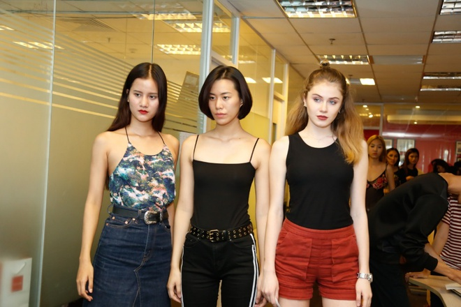 Nha thiet ke Claret Giang Le casting dan Next Top Model cho BST moi hinh anh 3