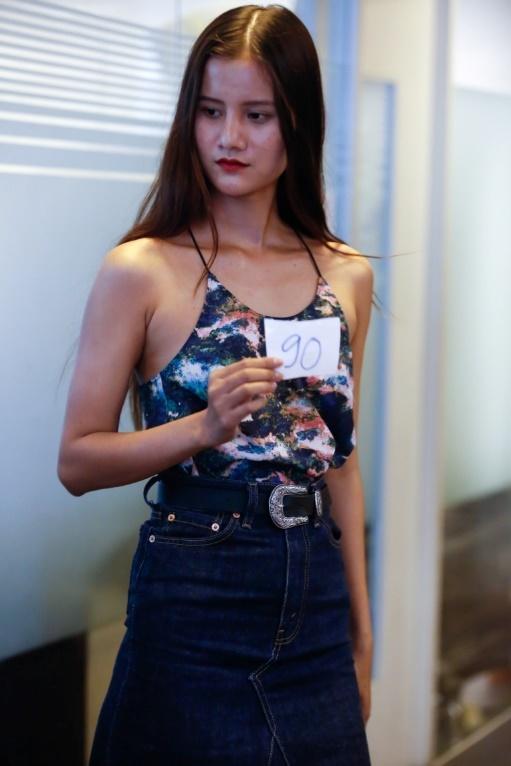 Nha thiet ke Claret Giang Le casting dan Next Top Model cho BST moi hinh anh 5