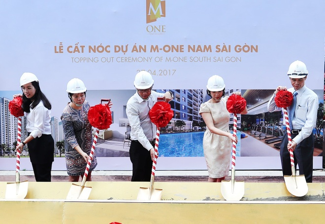 Du an M-One Nam Sai Gon cat noc dung tien do hinh anh