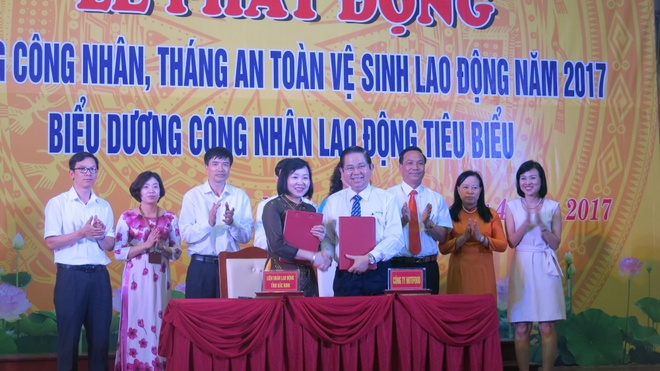 NutiFood ho tro cong nhan Bac Ninh hinh anh 1