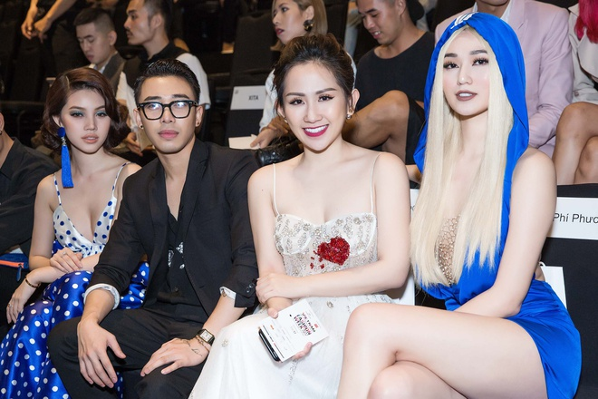 Tram Nguyen, Midu do dang tai 'Vietnam International Fashion Week' hinh anh 5