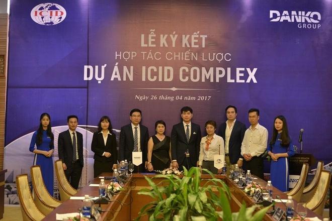 Danko Group ky ket phan phoi 646 can ho ICID Complex, Ha Noi hinh anh 1