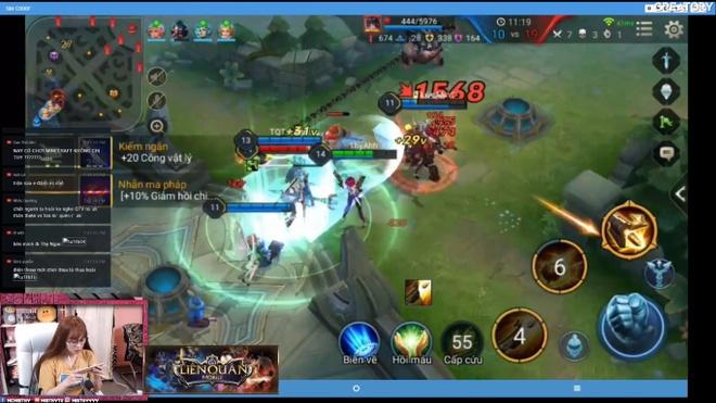 Trai nghiem streaming e-Sports bang Galaxy C9 Pro hinh anh 1
