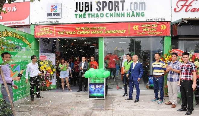 cua hang the thao Jubisport anh 1