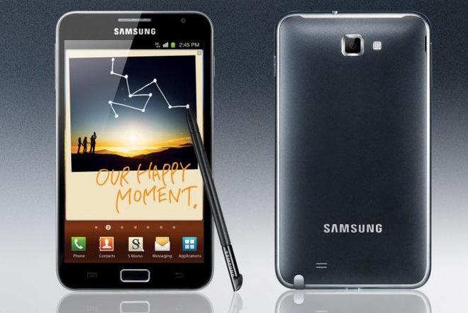 Nhung lan thay doi thiet ke man hinh an tuong cua Samsung hinh anh 1