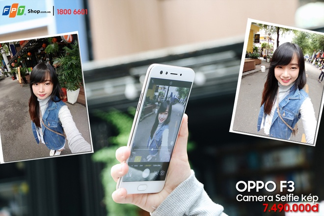 Chum anh can canh 'chuyen gia selfie' Oppo F3 hinh anh 4