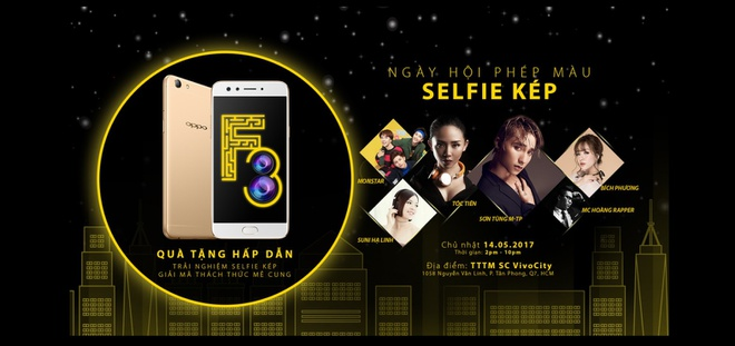 Khoi dong mua he an tuong cung Ngay hoi phep mau - selfie kep hinh anh 1