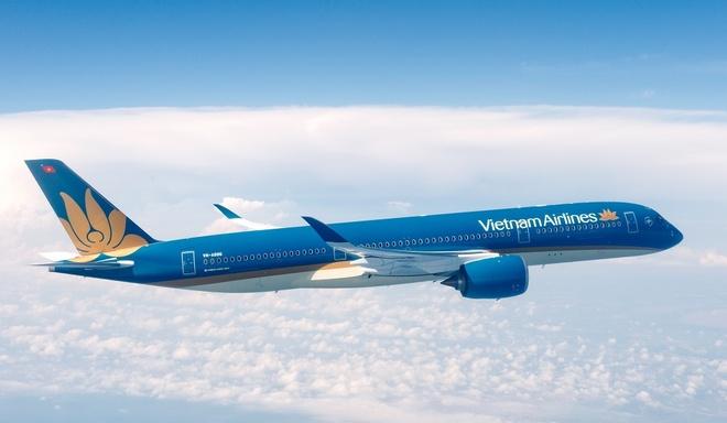 Vietnam Airlines chao don chuyen bay quoc te thu 10.000 tai Da Nang hinh anh