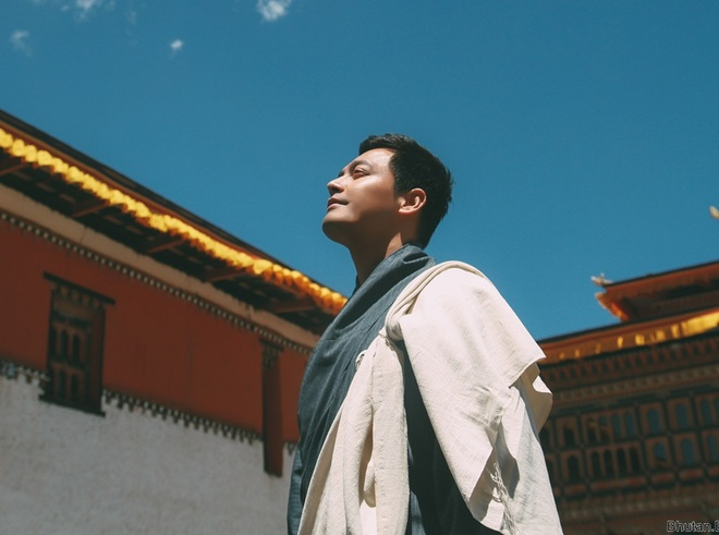 MC Phan Anh: 'O Bhutan, ngay nao toi cung thay than tam an lac' hinh anh