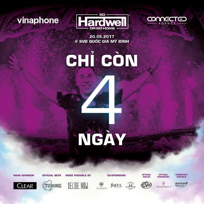 4 diem hap dan khong the bo qua tai dem nhac 'Hardwell by VinaPhone' hinh anh 1