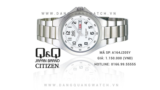 Dang Quang Watch phan phoi dong ho gia re Q&Q Citizen tai Viet Nam hinh anh 2