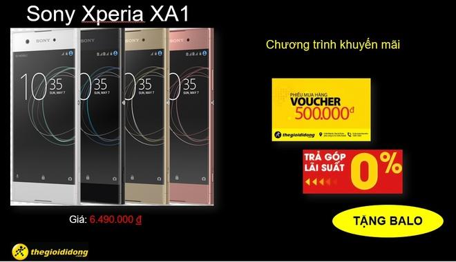 The Gioi Di Dong tang qua hap dan cho khach hang mua Xperia XA1 hinh anh 2