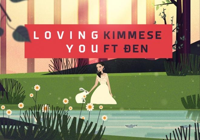 Kimmese ra mat MV 'Loving you' theo phong cach hoat hoa hinh anh