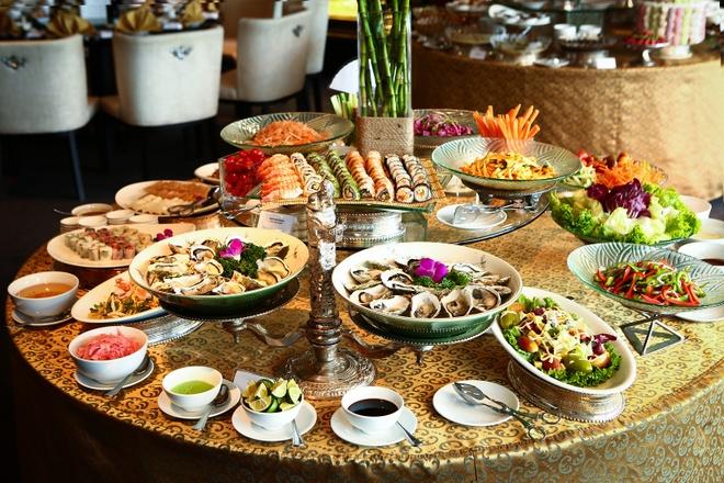 Thuong thuc buffet dim sum tai nha hang Ming, khach san Pan Pacific hinh anh 4