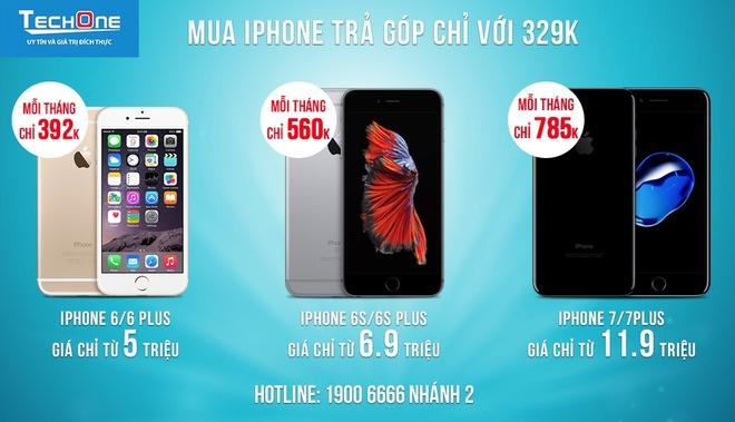 So huu iPhone 6/6S chi tu 392.000 dong/thang hinh anh 3