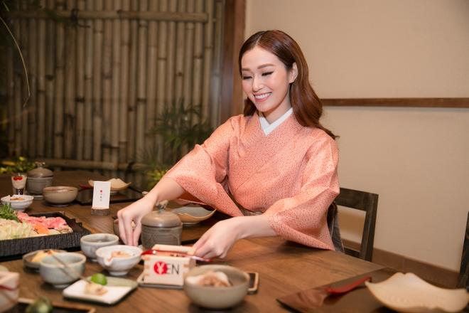 Khanh My ngot ngao trong trang phuc kimono Nhat Ban hinh anh 2