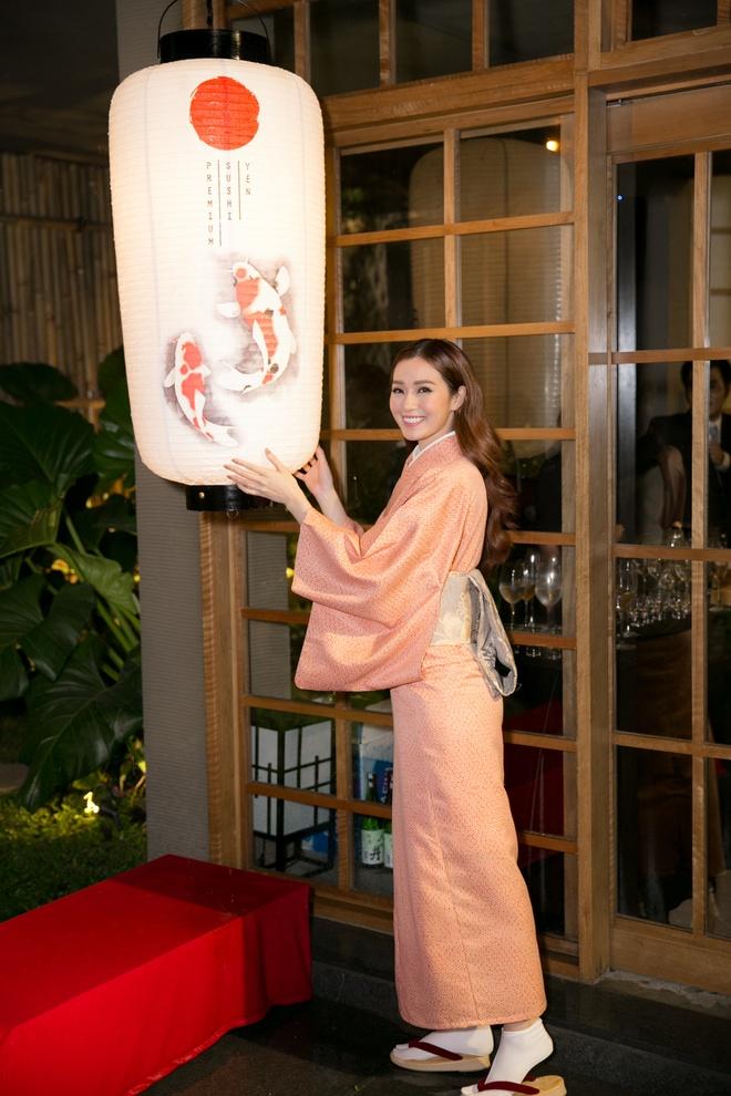 Khanh My ngot ngao trong trang phuc kimono Nhat Ban hinh anh 1