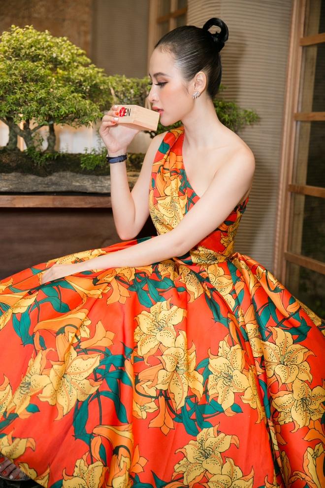 Khanh My ngot ngao trong trang phuc kimono Nhat Ban hinh anh 6