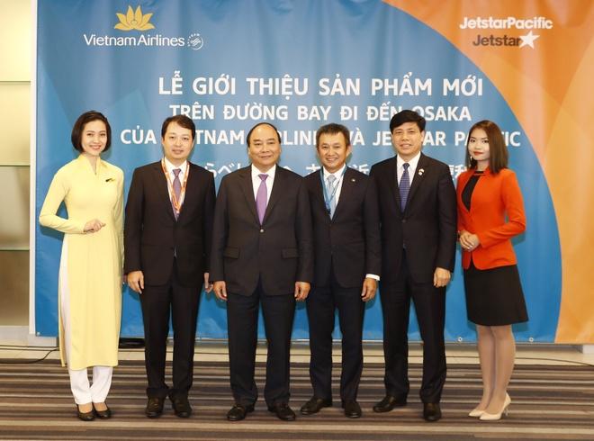Vietnam Airlines va Jetstar mo duong bay thang den Osaka hinh anh 1