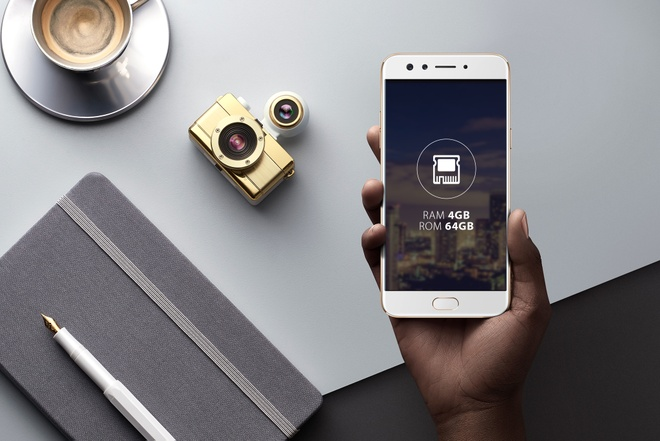 Co hoi mua Oppo F3 voi gia 6,49 trieu dong hinh anh