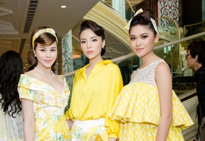 Hoa hau Sella Truong dien dam co dien, do dang ben Ky Duyen, My Linh hinh anh